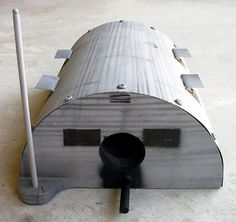 WWII MILITARY QUONSET HUT STYLE BIRD HOUSE