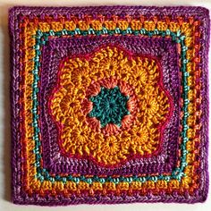 "Spring Fling 12"" Square pattern by April Moreland"