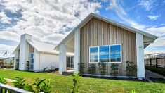 We build homes across New Zealand. Contact your local Stonewood Homes Auckland East team and take the first step to build your new home or visit our showhome. House Plans Mansion, Ranch House Plans, White Brick Houses, Modern Barn House, Courtyard House Plans, Brick And Wood, Display Homes, Full House, House In The Woods