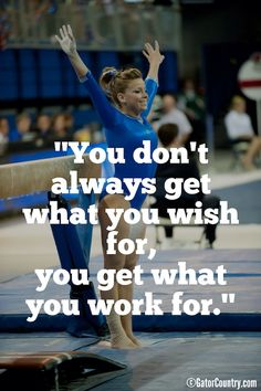 cheer quotes Mackenzie Caquatto before performing on the balance beam Cheerleading Quotes, Cheer Quotes, Sport Quotes, Gymnastics Sayings, Gymnastics Stuff, Gymnastics Posters, Gymnastics Quizzes, Gymnastics Room, Gymnastics Problems