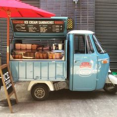 Love ice-cream sandwiches? Try Hector & Milo's on Maltby Market. Then have a look at Druid St Market nearby. >> http://a-littlebird.com/2015/08/26/milo-hectors-ice-cream-sandwiches/