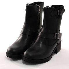 Womens Boots Black Size 7 Leather By Eastland Belmont Slip On Ankle Snow Winter #Eastland #SnowWinterAnkleBoot