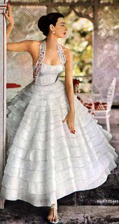 Fashion Victim: Vestidos de Fiesta de los años 50