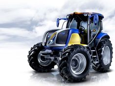 NH2 Hydrogen Fuel Cell Emission Free Tractor by New Holland