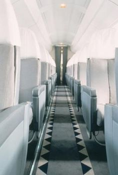 Concorde interior, Andree Putman