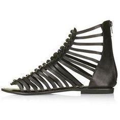 TopShop Harissa Knot Gladiator Sandals