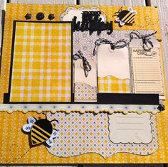 Premade 12x12 / SINGLE Page Scrapbook by CarrieHappyScrappin, $9.50