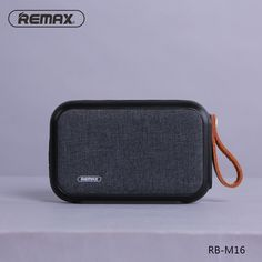 REMAX RB-M16 Portable Waterproof Fabric Blue tooth 4.0 Speaker