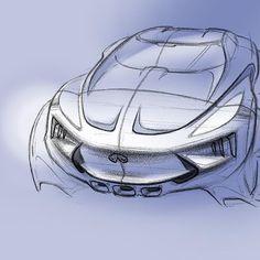 Infiniti project sketch #infiniti #concept #project #carsketch #cardesign #autodesign #transportation