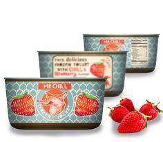 mr.Chill frozen yogurt packaging. designed at www.yuliab.com