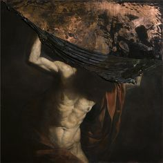 2014, oil on copper, 100 x 100 cm