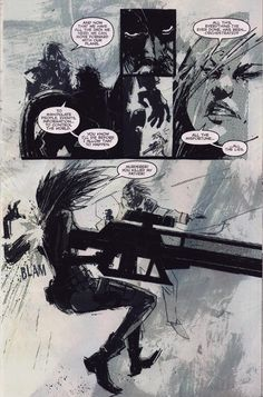Art I did with Ashley Wood for IDW Comics series, METAL GEAR SOLID 2 - SONS of LIBERTY  Rufus Dayglo