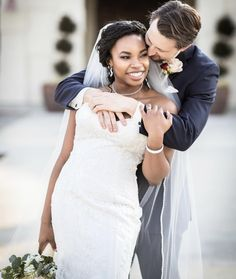 Love is love #bwwm #bwwmcouple #wmbw #interraciallove #interracial #interracialcouples #blackhairstyles #weddinghairstyles #blackbrides