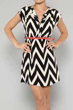 In LOVE with this dress, Black Zigzag Flared Dress (100% Polyester) $30.50 SHIPPED, 2S-1M-2L - Sold Out of Medium      https://www.facebook.com/BeyoutifulBoutique