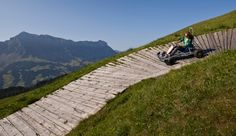 A cruise on the Marbachegg carts in Entlebuch
