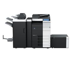 On May Konica Minolta Business Solutions U. continued the upgrade of its color MFP line that it began in April with the launch of the bizhub and the bizhub Green Technology, Latest Technology, Konica Minolta, Office Environment, Banner Printing, Laser Printer, Multifunctional, Locker Storage, Software