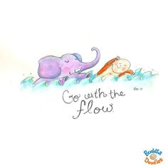 Go with the flow.. ^^