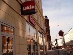 One of the many Fakta supermarkets.
