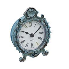 Pretty blue vintage clock