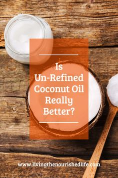 Ah, the refined coconut oil vs. unrefined coconut oil battle. But of course unrefined is always better, right? Well, not always… Let's talk about the reasons why I use refined coconut oil (and so should you!). #coconutoil #healthyfats