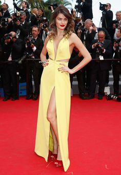 Isabeli Fontana in Tufi Duek | Cannes Film Festival 2014
