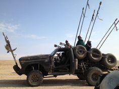 Mad Max Fury Road behind the scenes