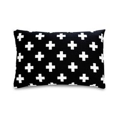 Black Cross Pillow –