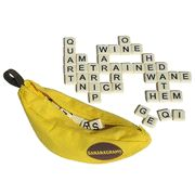 Bananagrams is the most delicious word game and also one of our most popular. Bananagrams players make their own collection of intersecting words until there are no more tiles left to play. Bananagrams from Banangrams. Ages 7 to Adult. Family Game Night, Family Games, Best Games, Fun Games, Tween Games, All You Need Is, Banana Gram, Word Games For Kids, Word Skills