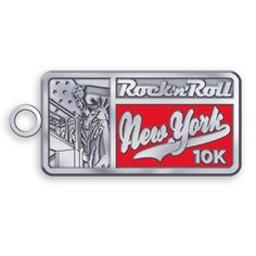 Reward yourself for a good run through Battery Park with the Rock 'n' Roll New York 10K Tour Stop Charm. The perfect addition for a necklace or bracelet!