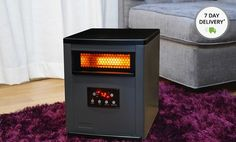 T440x300 Best Space Heater, Two Tone Cabinets, When You Come Home, Best Ceiling Fans, Infrared Heater, Canned Heat, Fireplace Accessories, Heating Systems, Save Energy