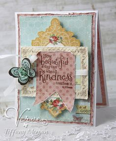 Card by Tiffany Morgan using Verve Stamps.  #vervestamps