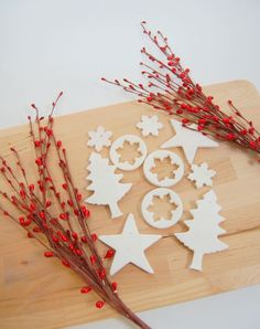 Step by step instructions on how to make scented baking soda dough ornaments