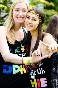 grateful to be... DPhiE :)