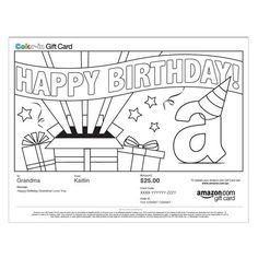 Amazon Gift Card - Print - Birthday Party - Color-In: http://www.amazon.com/Amazon-Gift-Card-Birthday-Color-In/dp/B005EISPLE/?tag=extmon-20