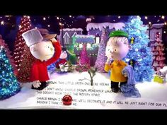 "2015 Macy's NYC Holiday Windows celebrate ""A Charlie Brown Christmas"" - YouTube"
