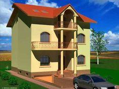 Proiecte case cu subsol Bucuresti