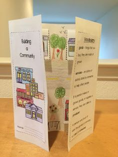 So, probably my last community project for a while. After this cute Building a Community foldable & packet, it'll be time to move on and wo...