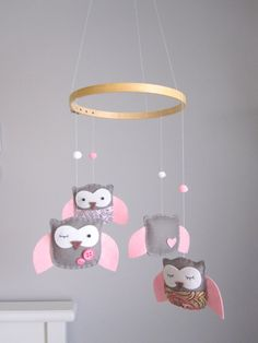 my future baby girl just might have an owl themed room