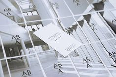 BRANDING, IDENTITY Acmé, business cards in a puzzle