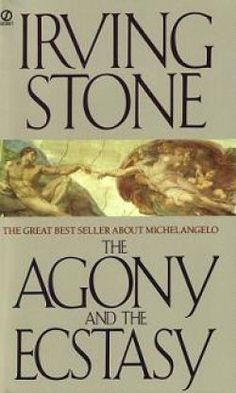 Irving Stone -    - The Agony and the Ecstasy  - Those Who Love  - George Washington's Mother  - Love is Eternal