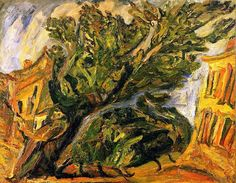 Soutine - Red Houses - 1917