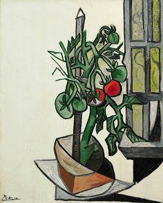 Pablo Picasso, Plant de tomates,  7 août, 1944