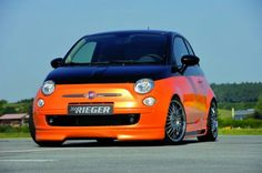 Fiat 500 Rieger tunning