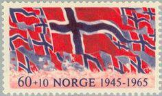 Norwegian Liberation stamp, 1965