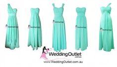 tiffany-blue-bridesmaid-dresses @TeAnna Johnson