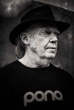 "If anyone's earned the right to rest on their laurels, it's Neil Young. But with a new album—scratch that, ""ear movie""—out and his Pono music player steadily gaining traction, he's finally free to do what he wants: save the world. Rock N Roll Music, Rock And Roll, Crosby Stills & Nash, Stephen Stills, In And Out Movie, Neil Young, Young Family, Rock Legends, Album Songs"
