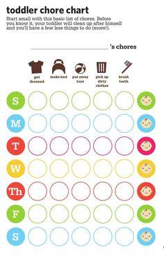 Toddler Chore Chart