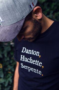 LES DEUX BONAPARTE T-SHIRT IN BLACK