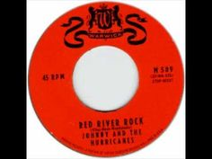 Today 9-9 in 1959, our radios were playing the great instrumental from Johnny and the Hurricanes 'Red River Rock'