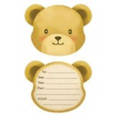 Teddy Bear Party Invitations